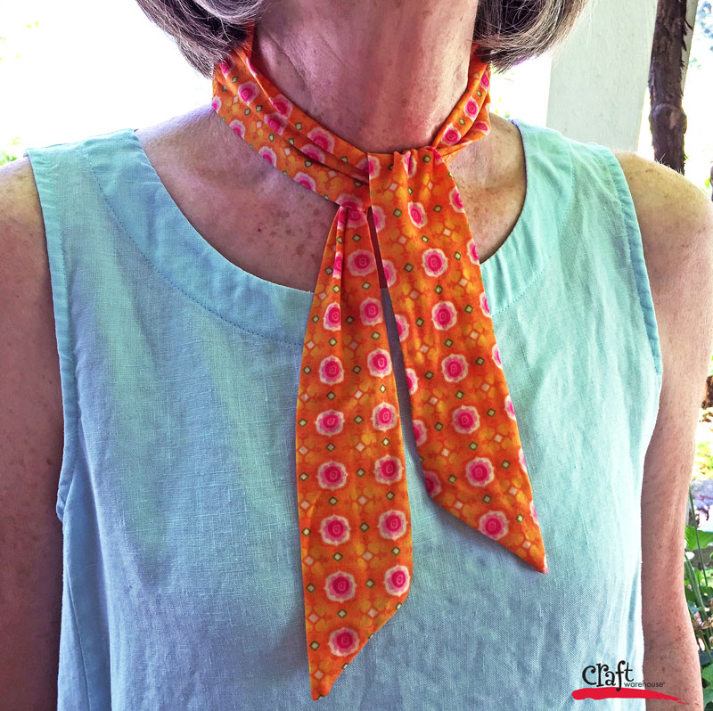 Sew this Cooling Scarf