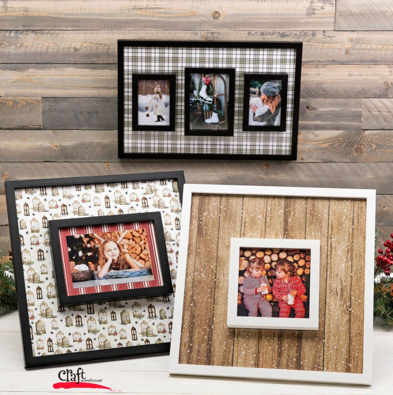 Layering Cooper Ridge Frames Craft Project