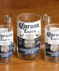 Make some recycled Corona glasses