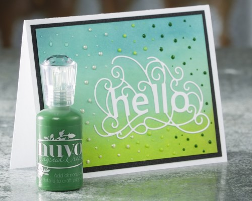 Card Making with Nuvo Crystal Drops - Project by Craft Warehouse