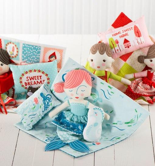 Cut and Sew Dolls by Moda