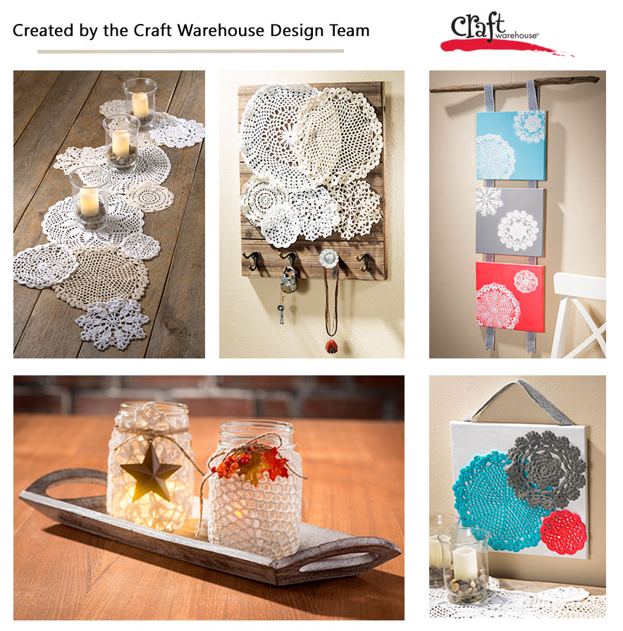 Make all kinds of crafts with Doilies at Craft Warehouse