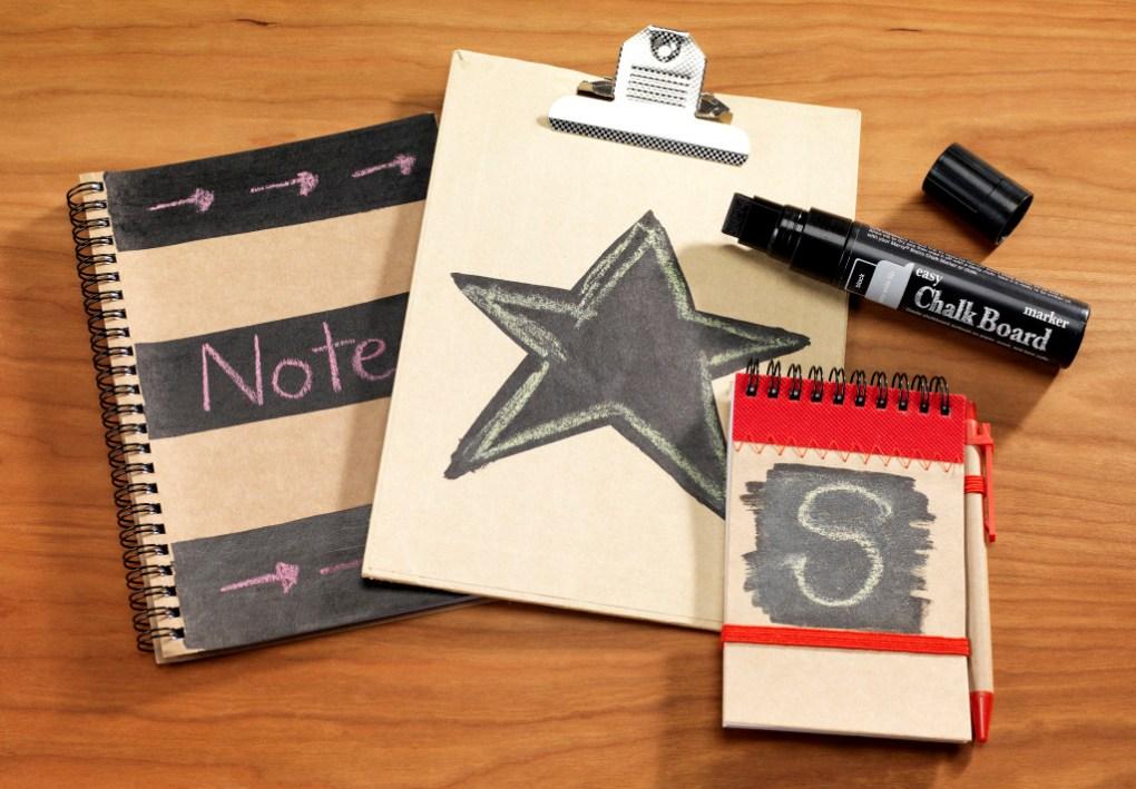 Marvy chalkboard marker notebook