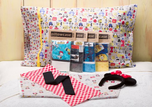 Pillowcase Kits with Movie and Licensed Themes