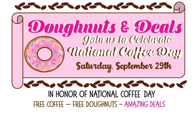 Doughnuts and Deals on National Coffee Day @ Hazel Dell Location | Vancouver | Washington | United States
