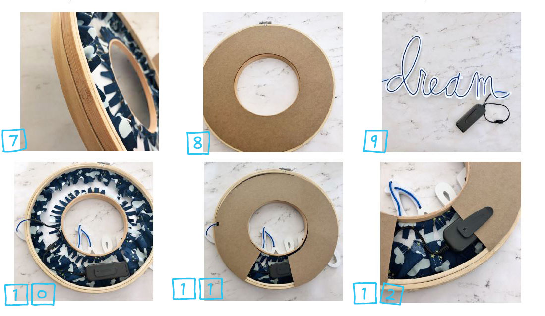 Make a Dream Hoop - How to