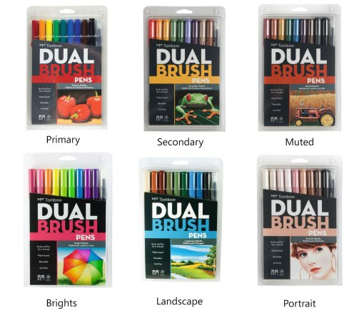 Buy Tombow Dual Brush Markers at Craft Warehouse