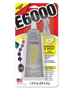 E6000 Glue for jewelry and beads available at Craft Warehouse