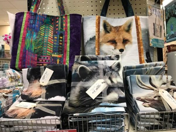 Call of the Wild fabrics at Craft Warehouse