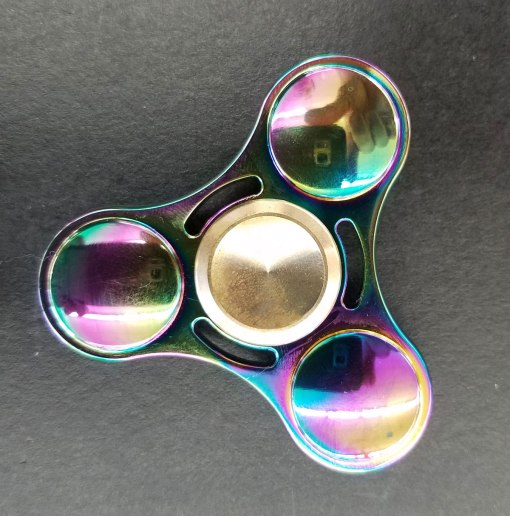 Rainbow Metallic Fidget Spinners at Craft Warehouse