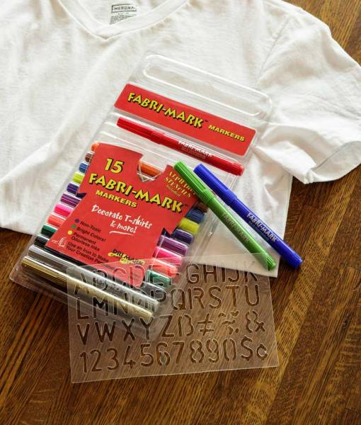 Fabri-Markers for decorating fabric at Craft Warehouse