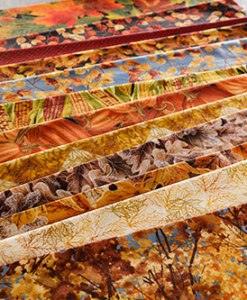 Fall Autumn Cotton Fabrics from Craft Warehouse