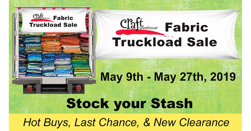 Fabric Truckload Sale @ All Locations