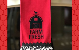 Make this Ruffled Farm House Towel