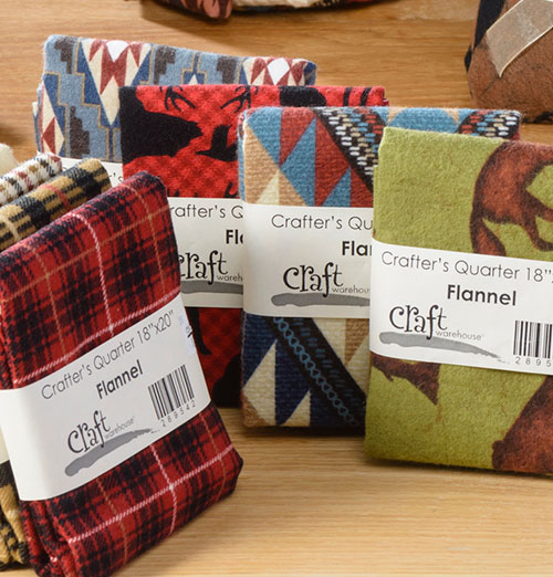 Flannel Fat Quarters sold as singles