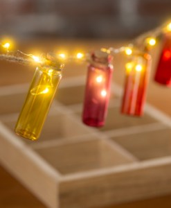 firefly bottle light garland