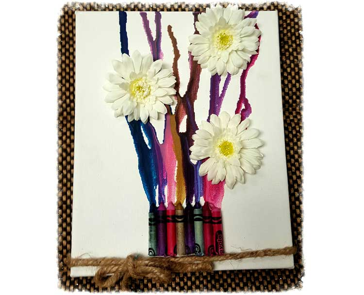 Flower Crayon Canvas @ Meridian Location | Beaverton | Oregon | United States