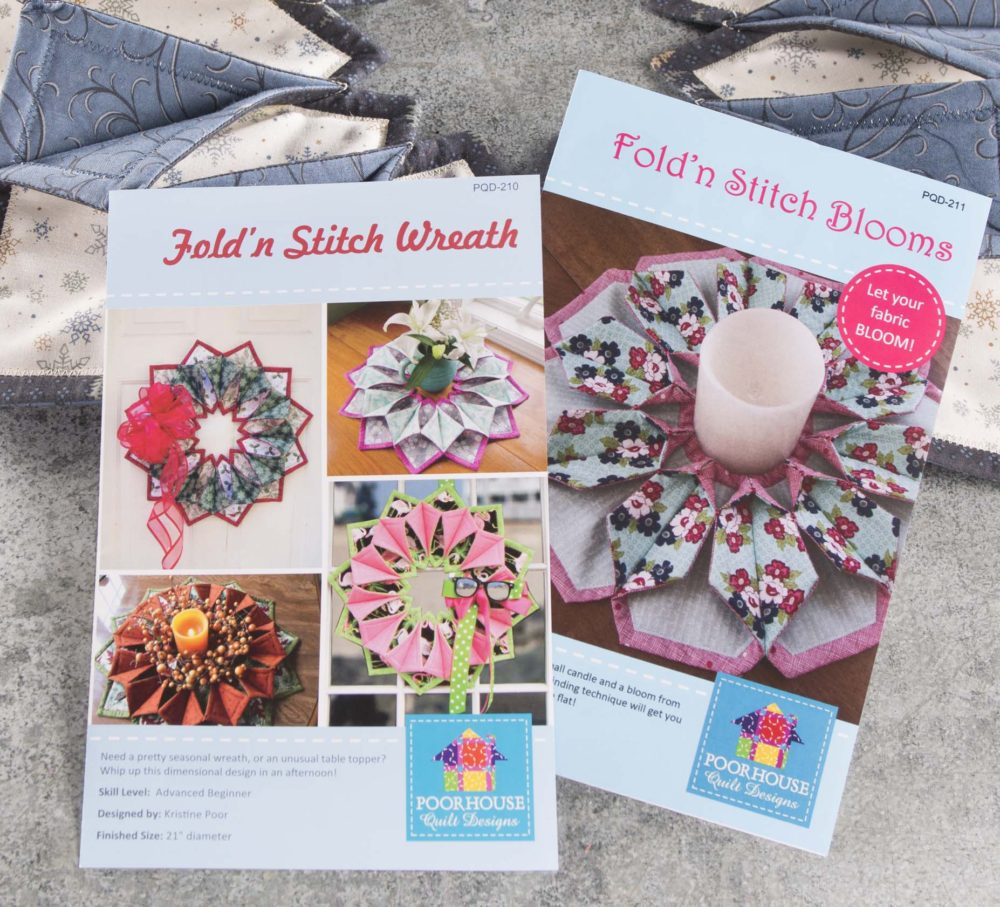 Fold and Stitch Patterns - find at Craft Warehouse