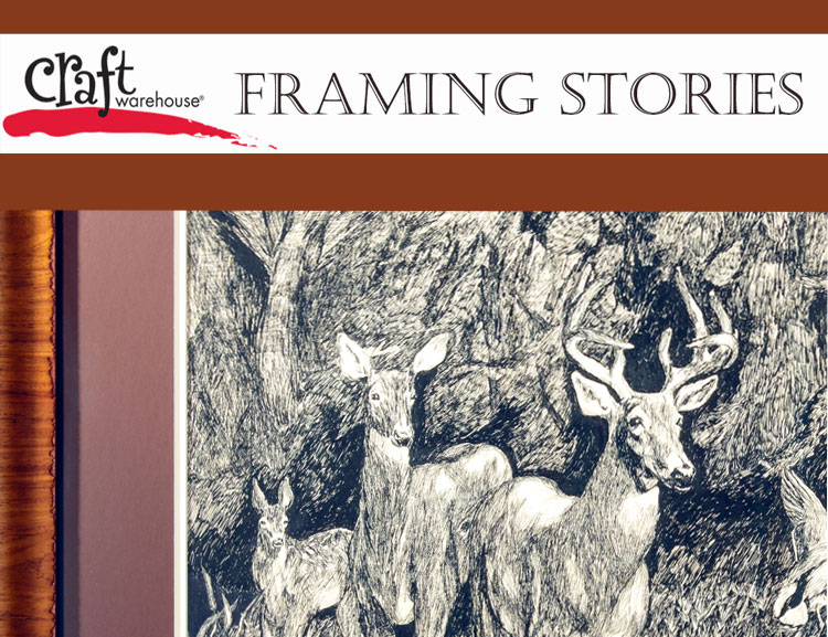 Craft Warehouse Custom Framing Stories