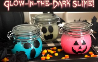 Glow in the Dark Slime how to
