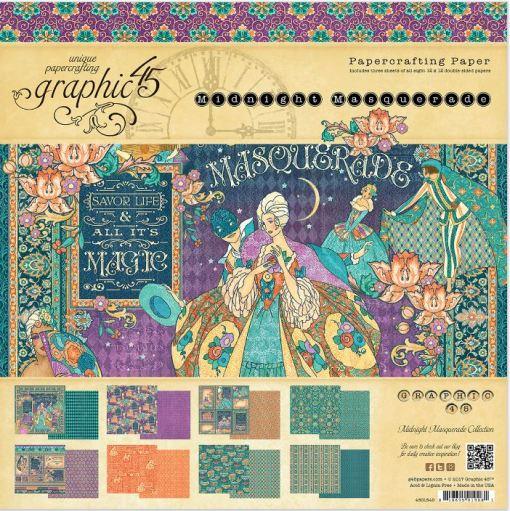 Graphic 45 Masquerade Paper Pads