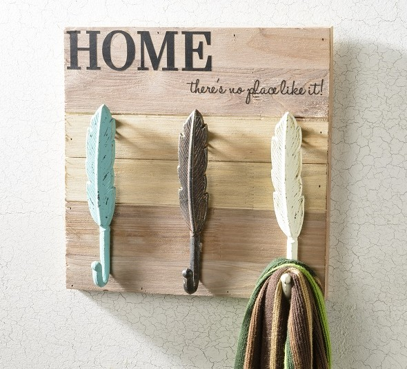 Feather Hook Wall Decor | Craft Warehouse
