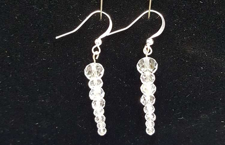 Icicle Earrings @ Vancouver Location | Vancouver | Washington | United States