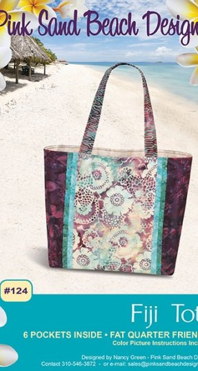 Fiji Tote Pattern from Pink Sands at Craft Warehouse