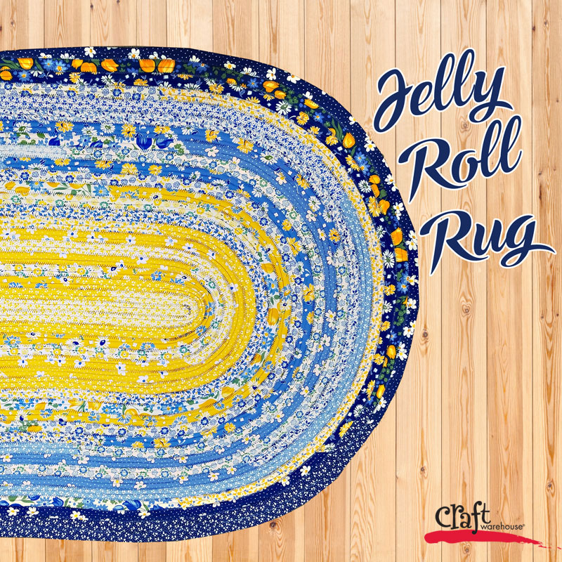 Sew This Jelly Roll Rugs Craft Warehouse