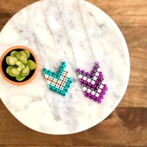 Perler Bead Jewelry
