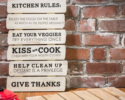 19x12 Kitchen Rules slatboard model