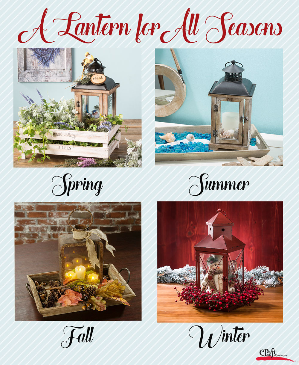 A Lantern for all Seasons at Craft Warehouse
