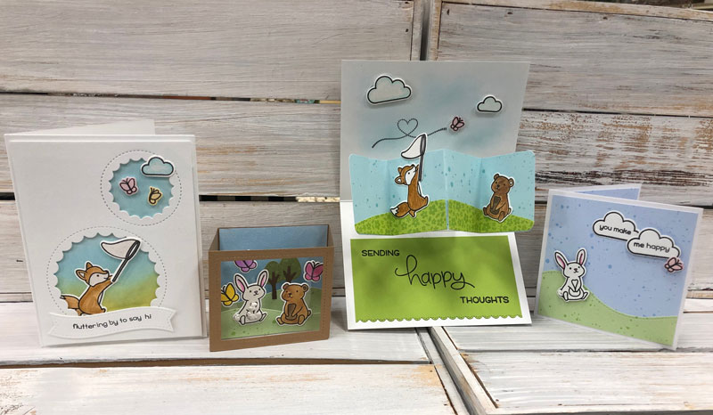 Lawn Fawn Card Collection @ Gresham Location | Gresham | Oregon | United States