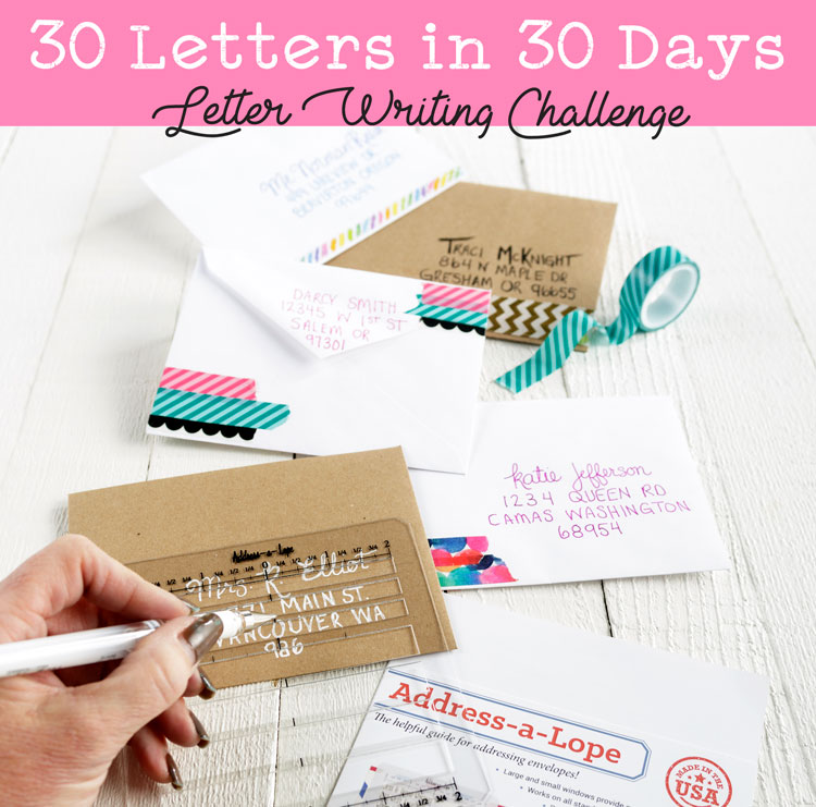 Happy Mail Letter Writing Challenge