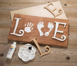 Create this Love Sign from Craft Warehouse