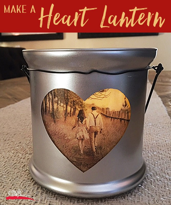 Learn how to make a Heart Lantern at Craft Warehouse