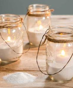 Mason Jar, Lantern, Beach