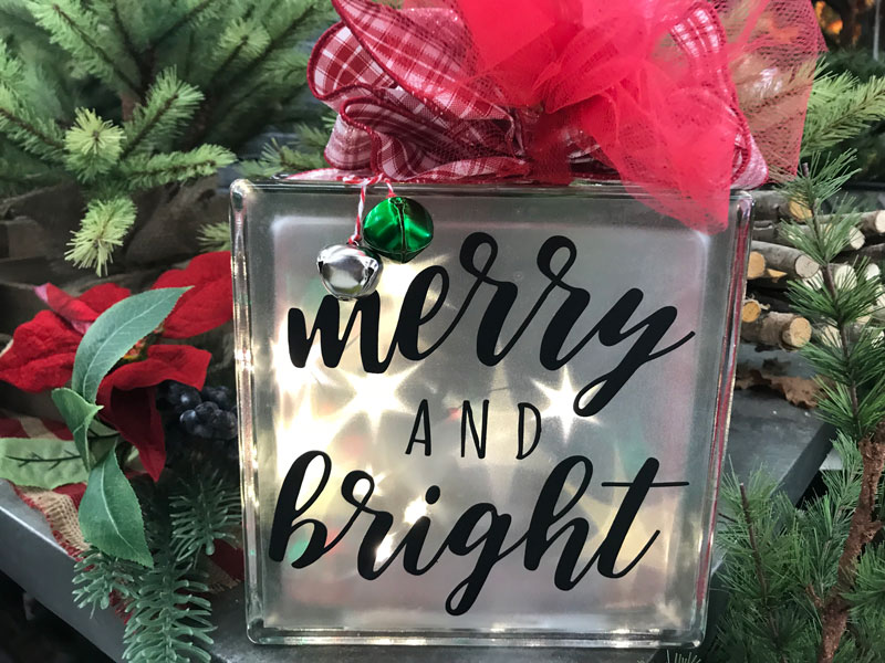 Happy Hour: Merry and Bright Glass Block @ Vancouver Location | Vancouver | Washington | United States