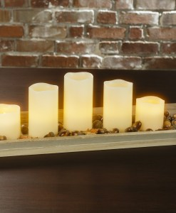 Electric Candles display at Craft Warehouse