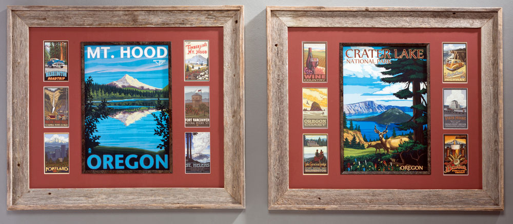 Travel Pacidfic Northwest Framing Project at Craft Warehouse