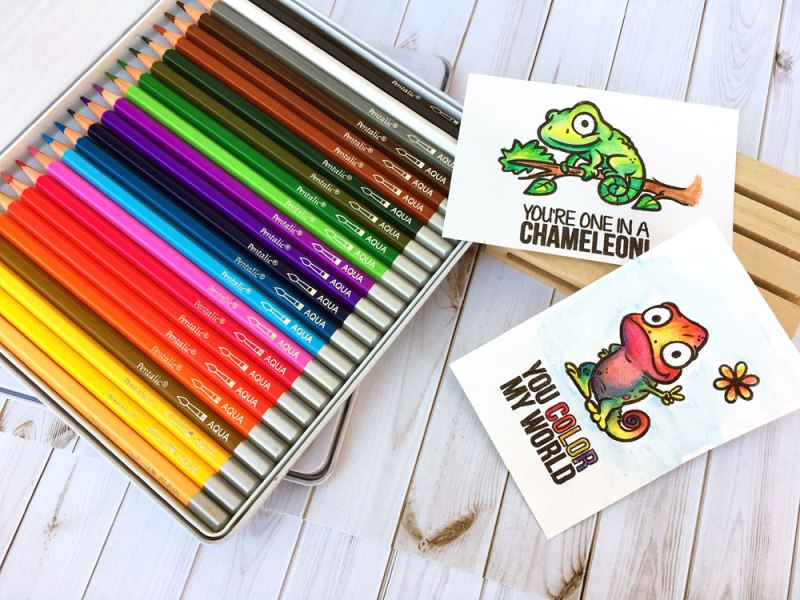 World Watercolor Month Paint & Play: Pentalic Water Color Pencils @ Check Locations | Vancouver | Washington | United States