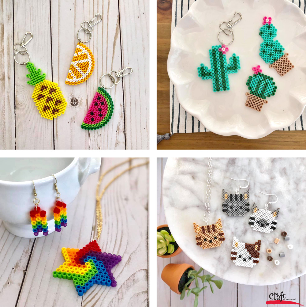 Creating Pretty Pixelated Projects with Perler Beads | Craft