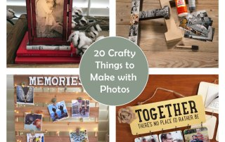 20 Crafty Things to do with Photos