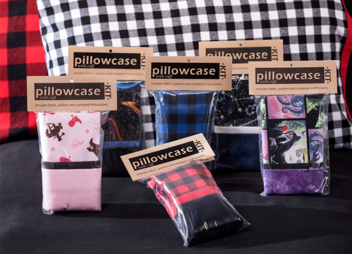 Get PIllowcase Kits at Craft Warehouse