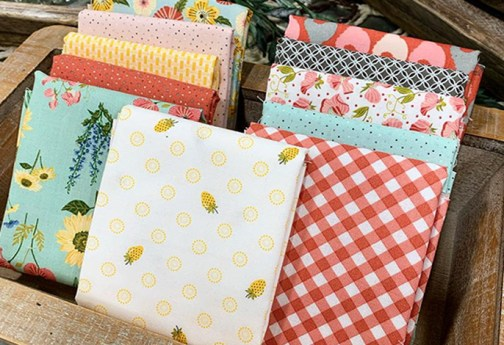 Pretty Poppie Cotton Fabrics have Arrived at Craft Warehouse
