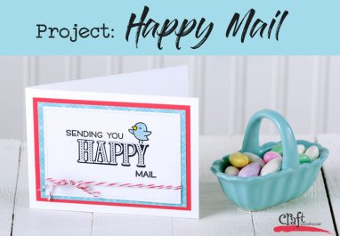 Project Happy Mail Card at Craft Warehouse