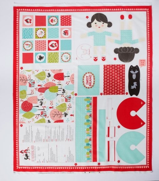 Red Riding Hood Cut and Sew Doll Panels available at Craft Warehouse