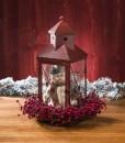 Snowman in Red Lantern