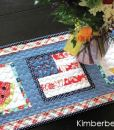 Summer Table Runner Paper Piecing