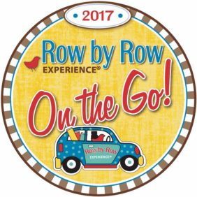 Craft Warehouse is in the 2017 Row by Row Quilt Shop Hop